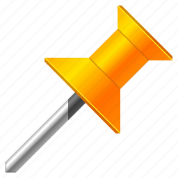 arrow, base, direction, flag, gps, label, location, map, mark, marker, navigation, needle, orange, pin, place, point, pointer, position, tag, target, travel icon