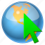 arrow, browser, compass, direction, earth, global, globe, gps, location, map, marker, navigate, navigation, place, planet, pointer, road, selection, seo, sphere, travel, universe, world icon