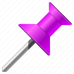arrow, base, direction, flag, gps, label, location, map, mark, marker, navigation, needle, pin, place, point, pointer, position, purple, tag, target, travel icon