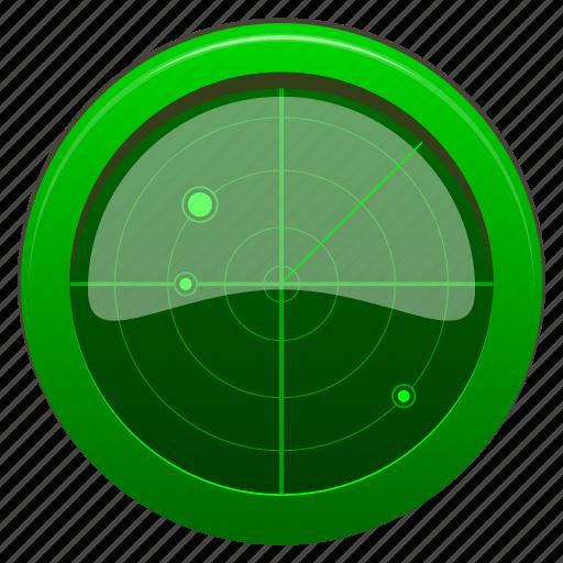 Locate Location Locator Navigate Navigation Radar Icon