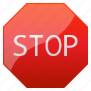 back, cancel, control, danger, delete, exit, no, pause, play, road signs, safety, sign, stop, warning icon