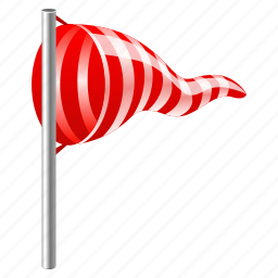 airport, direction, flag, forecast, wane, weather, wind, windy icon