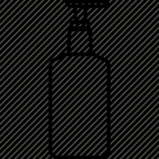bottle, hand, health, hygiene, medical, santizier icon