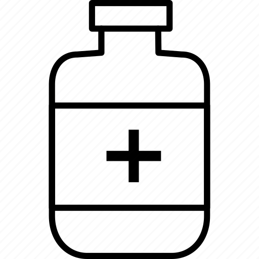 bottle, drug, health, medicine, package icon