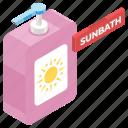 cosmetic product, skin lotion, sunbath, sunblock, sunblock cream, sunscreen, sunscreen lotion icon