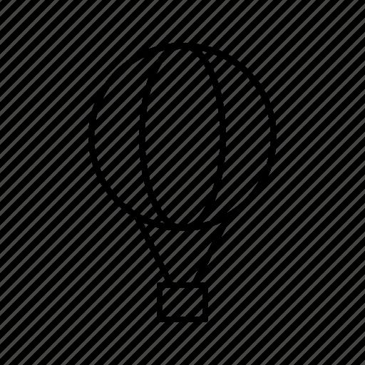 balloon, hotel, journey, travel, trip icon