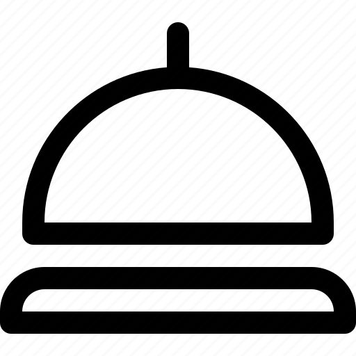 bell, hotel, lobby, service icon