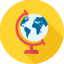 country, destination, earth, education, geography, globe, world icon