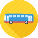 auto, automobile, bus, transport, travel, van, vehicle icon