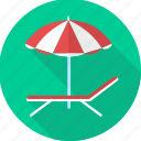 beach, holiday, holidays, relaxation, sun, umbrella, vacation icon
