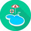 bath, picnic, pool, swim, swimming, swimming pool, water icon