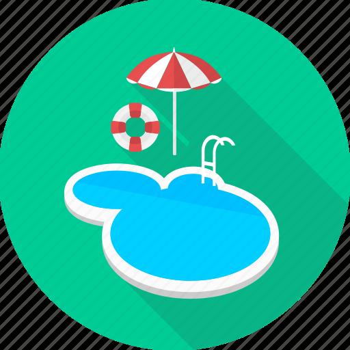 bath, picnic, pool, swim, swimming, swimming pool, water icon