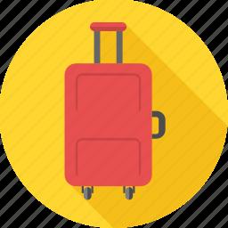 bag, baggage, luggage, tourism, travel, travel bag, vacation icon