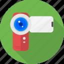 cam, camera, handy cam, web, live, photo, video icon