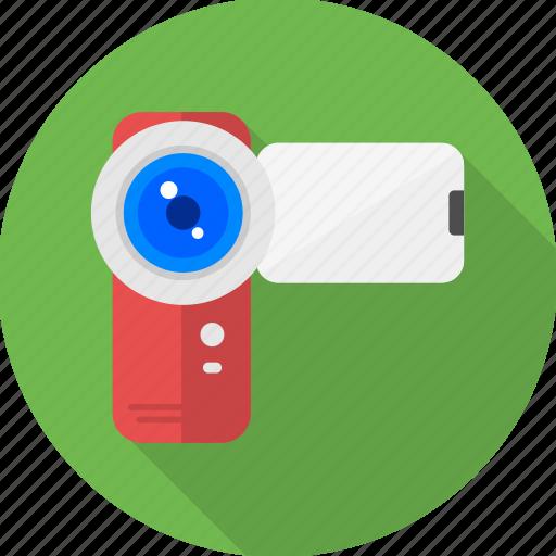 cam, camera, handy cam, live, photo, video, web icon