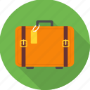 bag, briefcase, luggage, portfolio, suitcase, travel, vacation icon