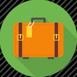 bag, briefcase, luggage, portfolio, suitcase, travel, vacation icon