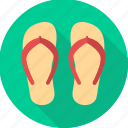 beach, flip flop, flip flops, foot, footwear, slipper, slippers icon