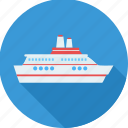 boat, cruise, luxury, sailing, sea, ship, yacht icon