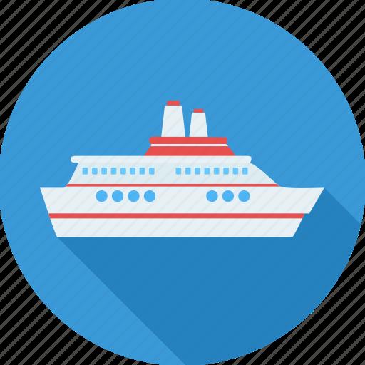 boat, cruise, luxury, sailing, sea, ship, yacht icon