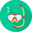 diving, eyeglasses, glasses, swimming, underwater diving, waterproof icon
