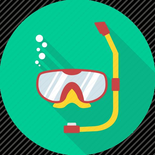 diving, eyeglasses, glasses, swimming, underwater diving, waterproof icon