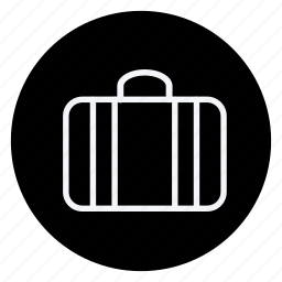 brifecase, holiday, outdoor, suitcase, tourism, travel, vacation icon