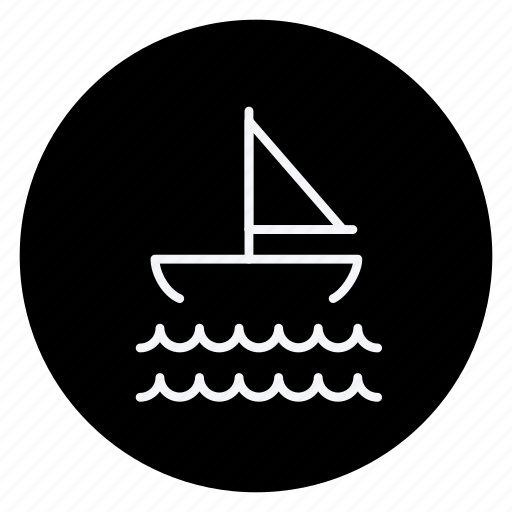 boat, holiday, outdoor, ship, tourism, travel, vacation icon