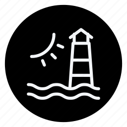 holiday, holidays, light house, outdoor, tourism, travel, vacation icon