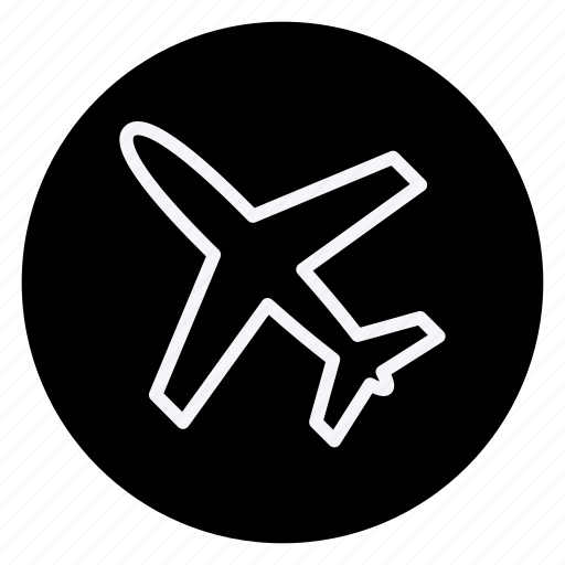 airplane, holiday, outdoor, plane, tourism, travel, vacation icon