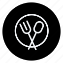 cutlery, dish, holiday, spoon, tourism, travel, vacation icon