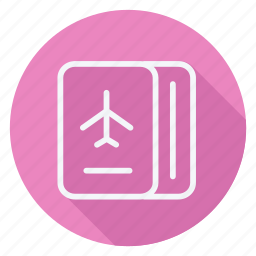 holiday, holidays, outdoor, passport, tourism, travel, vacation icon