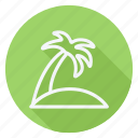 holiday, holidays, outdoor, palm tree, tourism, travel, vacation icon