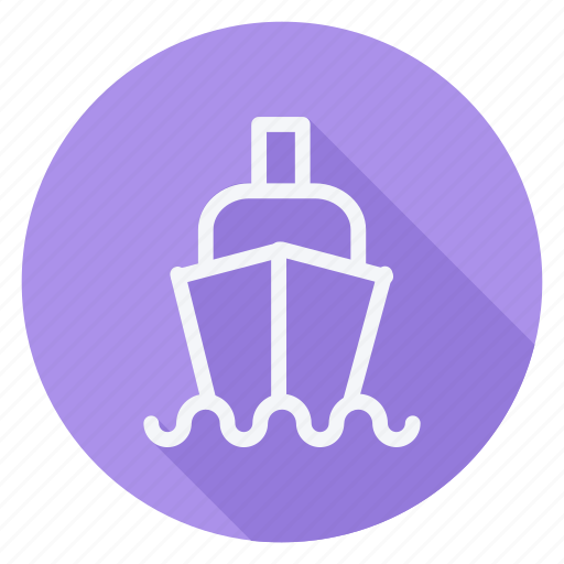 cruise, holiday, outdoor, ship, tourism, travel, vacation icon