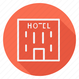 five star hotel, holiday, holidays, hotel, outdoor, tourism, travel icon