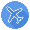 airplane, holiday, holidays, outdoor, tourism, travel, vacation icon