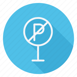 holiday, no parking, outdoor, parking, tourism, travel, vacation icon