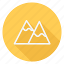 holiday, holidays, mountain, outdoor, tourism, travel, vacation icon