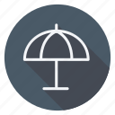 holiday, holidays, outdoor, tourism, travel, umbrella, vacation icon