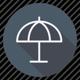 holiday, holidays, outdoor, tourism, travel, umbrella, vacation icon