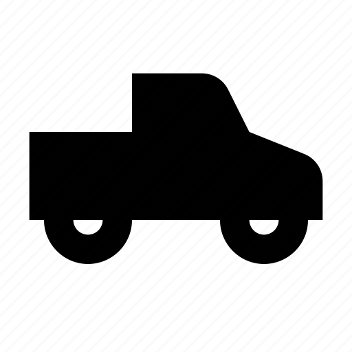 pickup, tow, trailer, transit, transportation, truck, vehicle icon