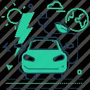 ecology, electro car, plug, vehicle