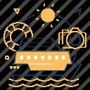 camera, cruise, ship, traveling