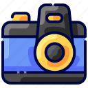bukeicon, camera, capture, photos, travel, vacation icon