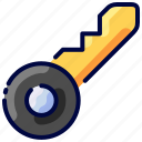 bukeicon, hotel, key, room, service, transport, travel icon