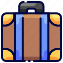 baggage, briefcase, bukeion, luggage, suitcase, travel icon