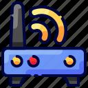 bukeicon, hotel, internet, router, travel, wifi icon