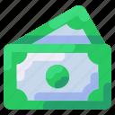 bukeicon, cash, dollar, money, payment, travel icon