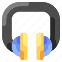 bukeicon, enjoy, headphone, headphones, travel icon