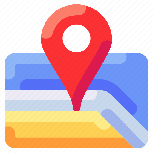bukeicon, location, map, maping, travel icon